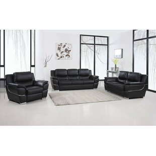 Best Reviews Trower 3 Piece Living Room Set by Red Barrel Studio Reviews (2019) & Buyer's Guide