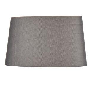 Tapered lampshade wayfair enrique 36cm silkshantung tapered drum lamp shade aloadofball Choice Image