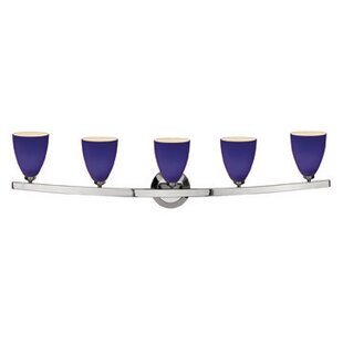 Savings Ferragamo 5-Light Vanity Light By Ebern Designs