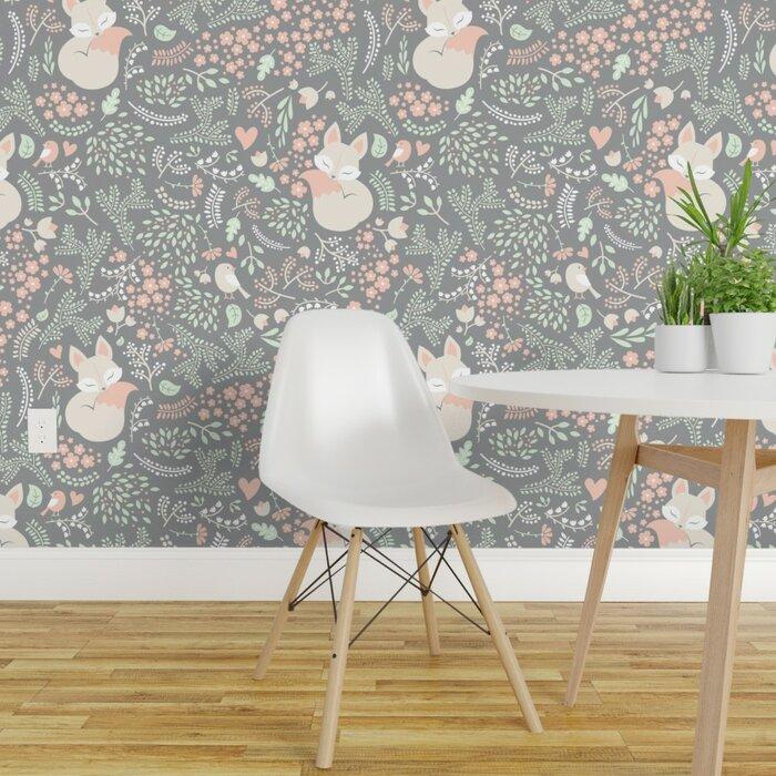Tyndale Fox Nursery Removable Wallpaper Panel