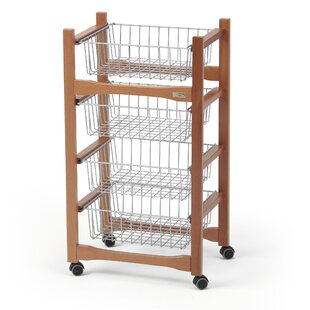 Overstreet Serving Cart By Marlow Home Co.