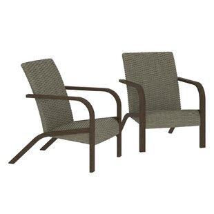 Tiemann Patio Chair (Set Of 2) By Winston Porter