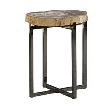 Fossil Stone End Table by Furniture Classics LTD