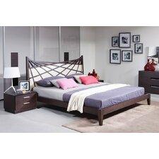 Patterson Upholstered Platform Bed by Wade Logan