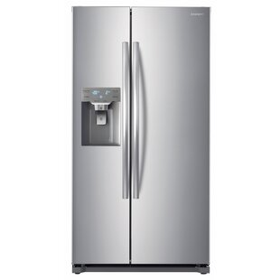 20 cu. ft. Counter Depth Side by Side Refrigerator by Daewoo