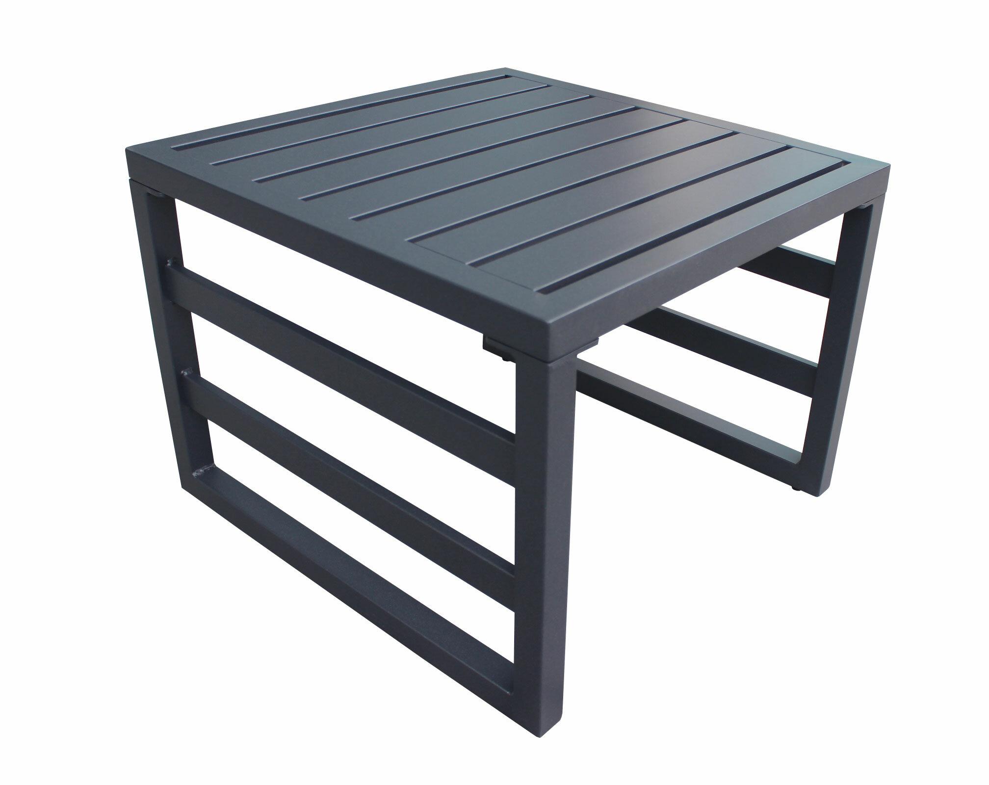Wrought Studio Kaminsky Powder Coated Aluminum Side Table Reviews Wayfair