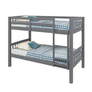 Nicholson Twin Bunk Bed by Harriet Bee