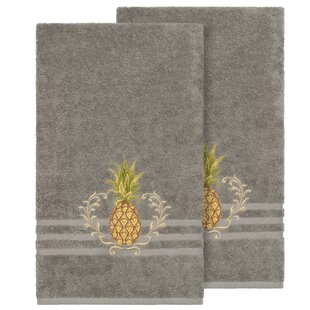 Rosalez Turkish Cotton Bath Towel (Set of 2)