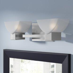 Latitude Run Vanmeter Xenon 2-Light Bath Bar