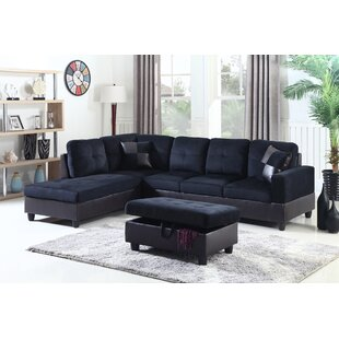 Star Home Living Corp Sectional with Ottoman