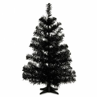 pvc 2 black artificial christmas tree - Black Artificial Christmas Tree