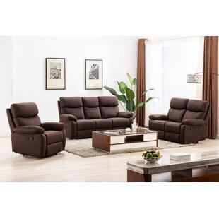 Algoma 3 Seater Reclining Sofa By Mercury Row