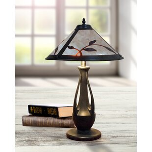 Brutus Spring Leaves Mica 24 Table Lamp