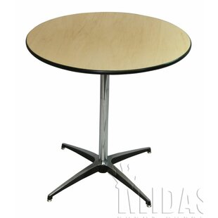 Midas Event Supply Elite Wood Table With Adjustable Post