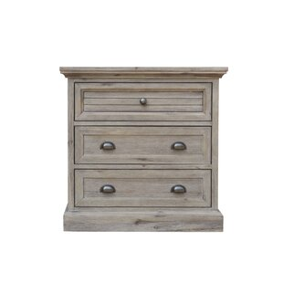 Kenric 3 Drawer Nightstand
