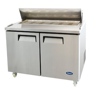 48 Refrigerated MegaTop Sandwich Prep Table by Atosa