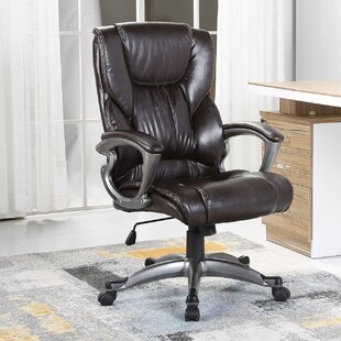 Stapleford Ergonomic High-Back Executive Chair by Andover Mills Office Furniture