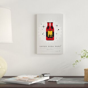 'Super Soda Pops VIII' Graphic Art Print on Canvas By East Urban Home
