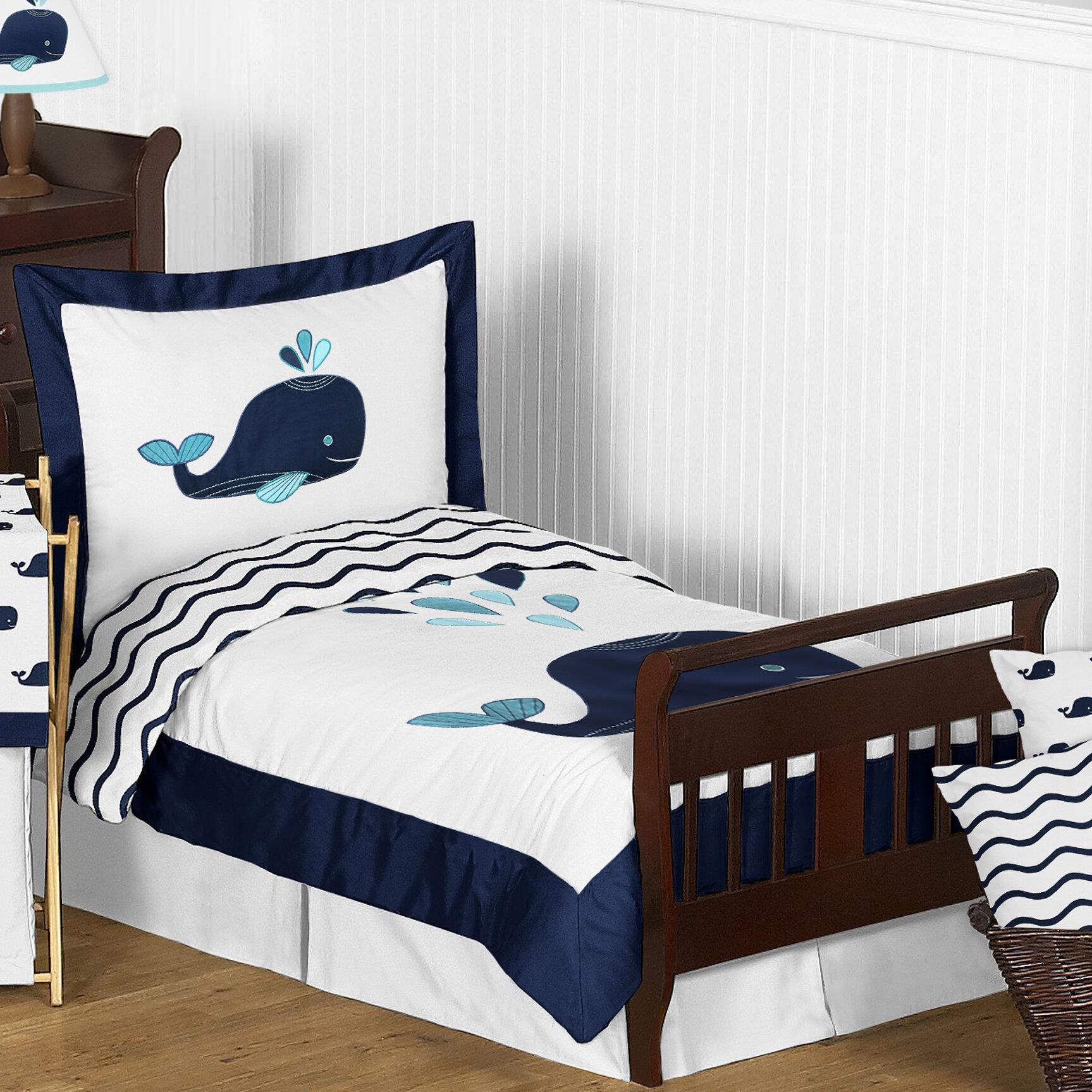 Sweet Jojo Designs Whale 5 Piece Comforter Set Wayfair