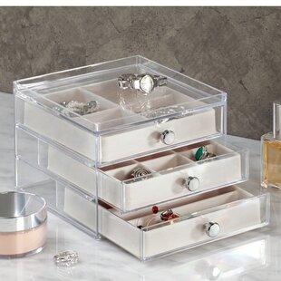 Compare & Buy 3 Drawer Slim Jewelry Box By InterDesign