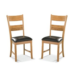 Millwood Pines Whipple Ladderback Side Chair (Set of 2)