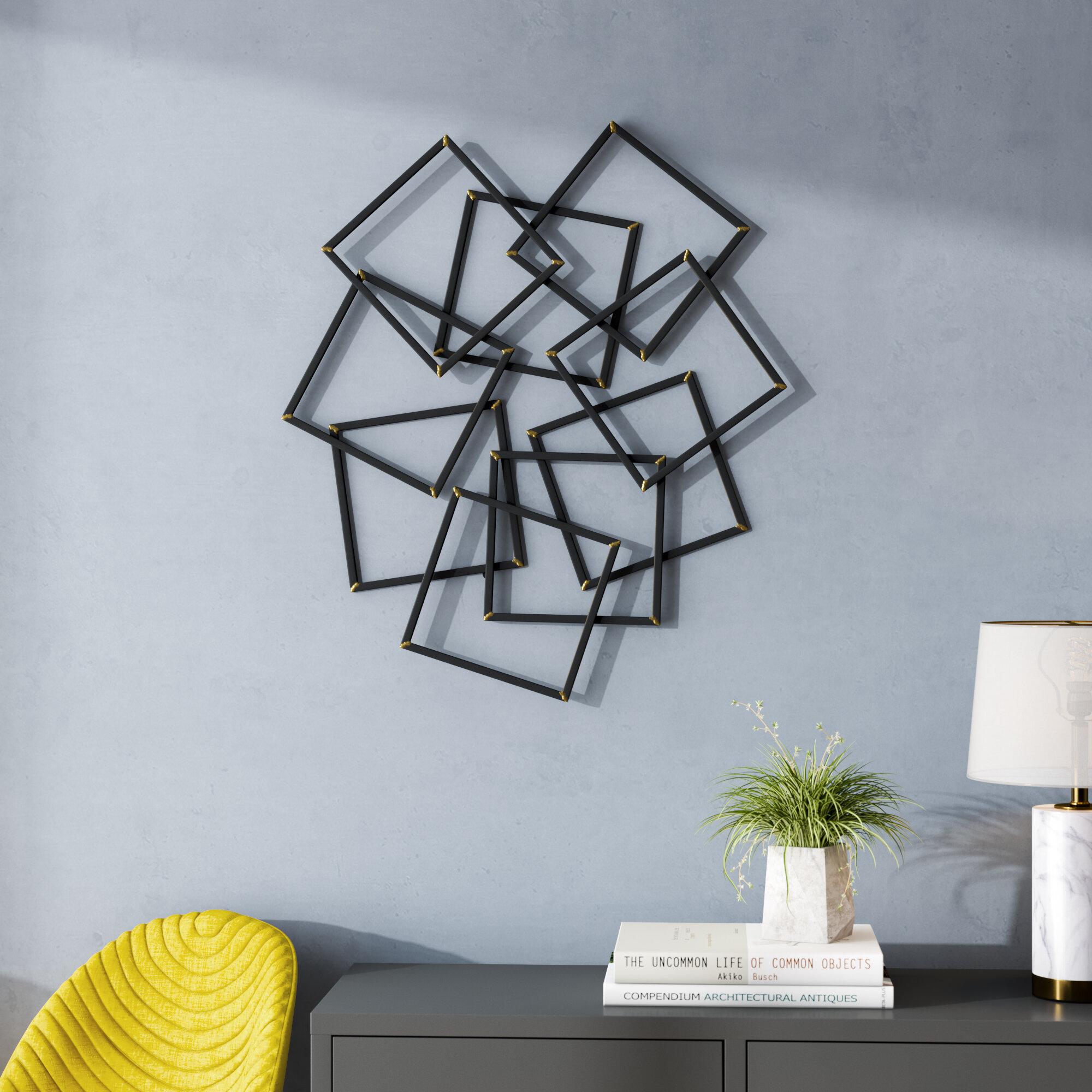Brayden Studio Contemporary Painted Wall Decor Reviews Wayfair