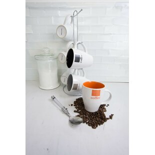 6 Piece Mug Set with Stand