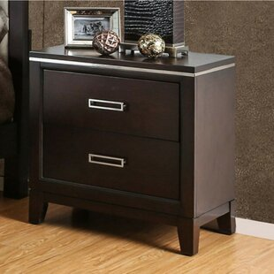 Brinegar 2 Drawer Nightstand by Orren Ellis