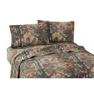 Xtra 180 Thread Count Percale Sheet Set ByRealtree Bedding