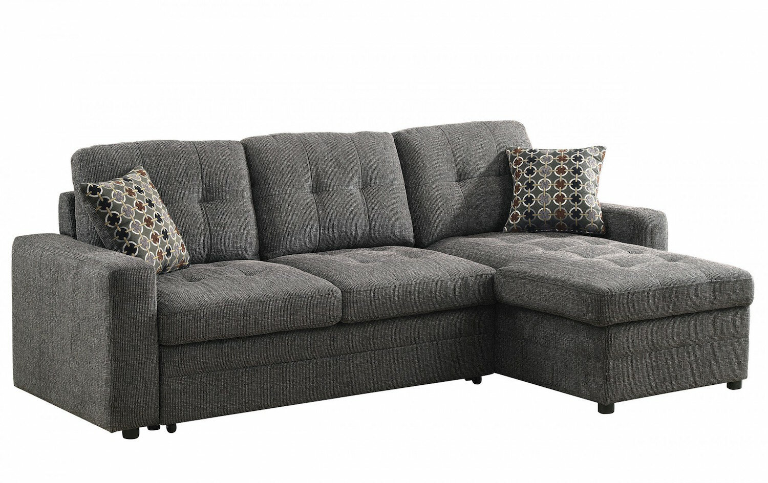 - Latitude Run Logenita Right Hand Facing Sleeper Sectional