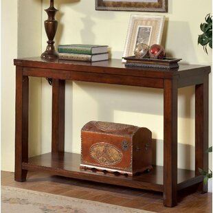 Halewood Transitional Console Table by World Menagerie Modern
