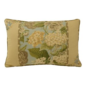 Garden Glory Cotton Lumbar Pillow