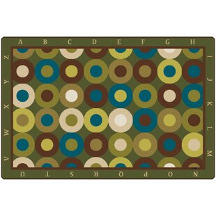 Calming Circles with Alphabet Kids Rug ByCarpets for Kids