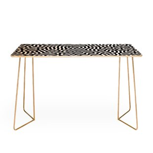 Adam Priester Coral Pattern I Desk by East Urban Home