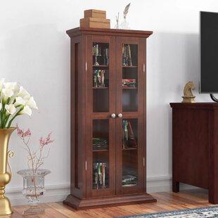 Espinosa CD/DVD Multimedia Cabinet By Red Barrel Studio