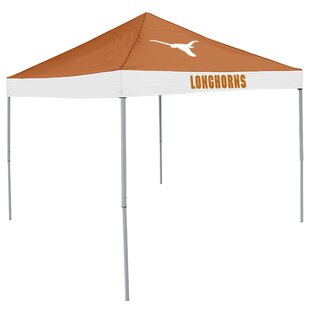 NCAA 9 Ft. W x 9 Ft. D Steel Pop-Up Canopy by Logo Brands