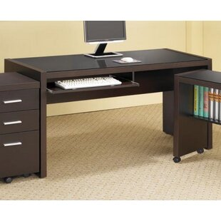 Ollie 2 Piece Desk Office Suite by Ebern Designs Design
