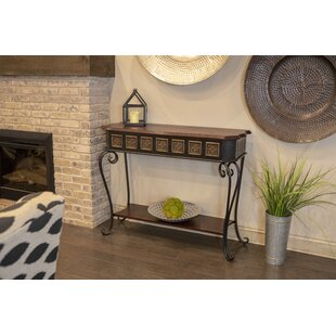 Hailes Console Table by World Menagerie