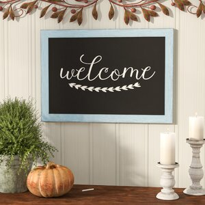 Rustic Framed Chalkboard