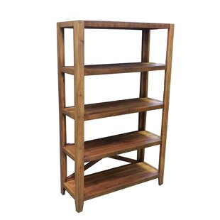 Rouse Wooden Etagere Bookcase Loon Peak