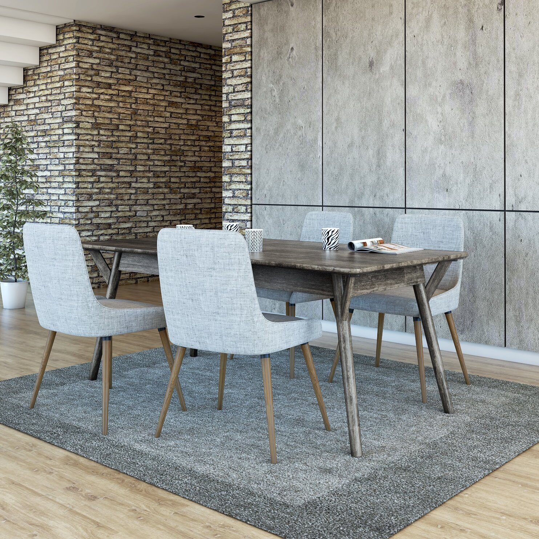 Brayden Studio Neace 5 Piece Dining Set | Wayfair