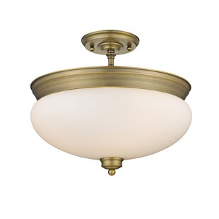Casselman 3-Light Semi Flush Mount by Darby Home Co
