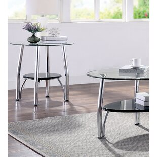 Patrina 3 Piece Coffee Table Set (Set of 3)
