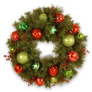 Decorative 61cm Fir Wreath By The Seasonal Aisle