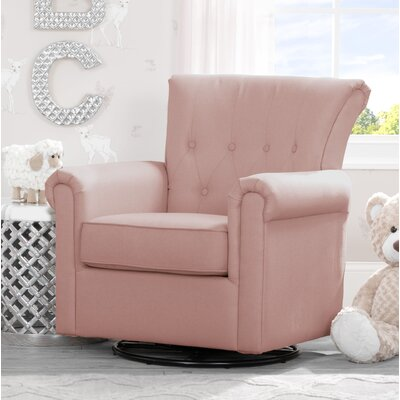 Harper Nursery Swivel Glider Upholstery Color: Blush