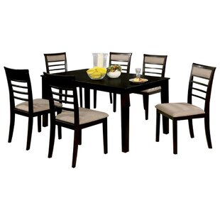 Harnish Wooden 7 Piece Counter Height Dining Table Set Red Barrel Studio