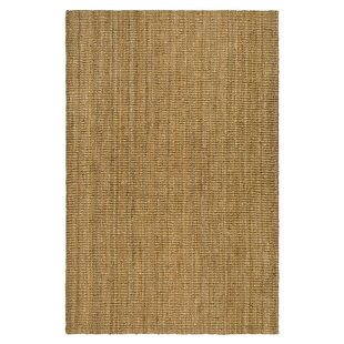 Price Check Gaines Power Loom Natural Area Rug by Charlton Home