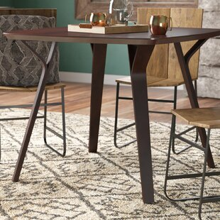 Union Rustic Thornton Mid-Century Modern Dining Table
