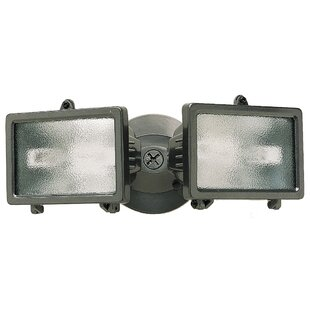 Best Reviews 2-Light Outdoor Floodlight By Heathco