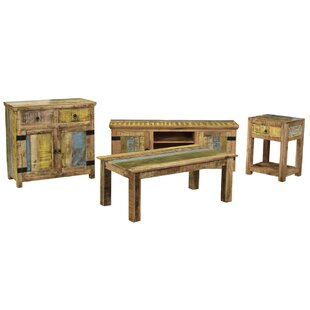Highland Dunes Natascha 2 Piece Coffee Table Set
